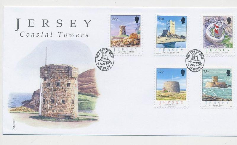 Jersey    FDC  aus 2005    (ze633  ) siehe scan