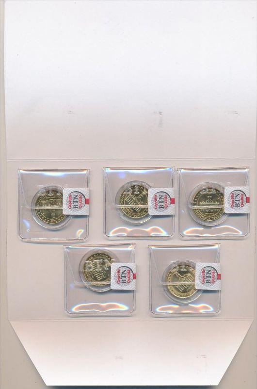 D Lot 2 Euro Münzen Vergoldet Ze606 Siehe Scan Nr 371428591