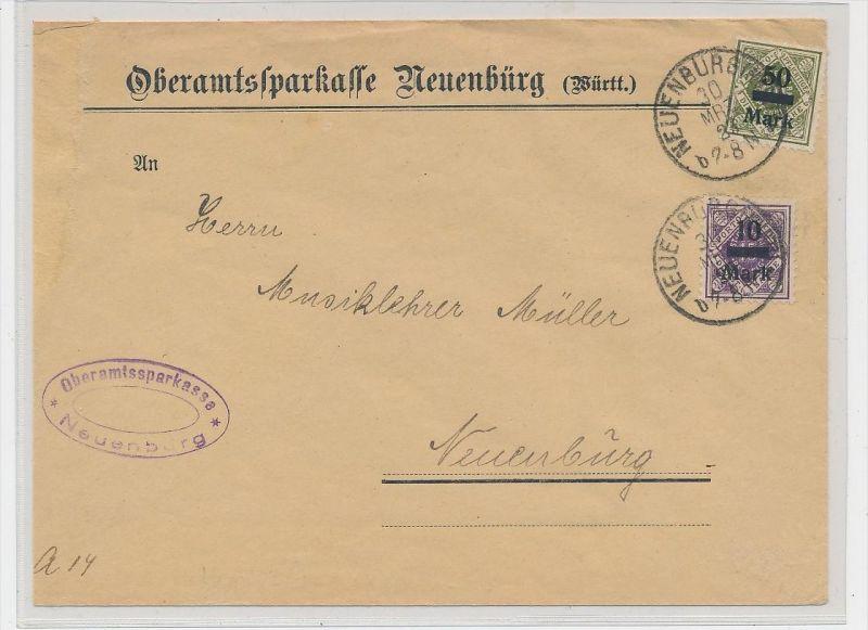 D.-Reich Dienst beleg (ze601  ) siehe scan