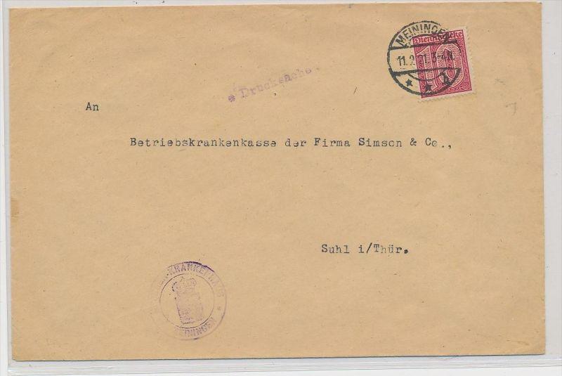 D.-Reich Dienst beleg (ze600  ) siehe scan