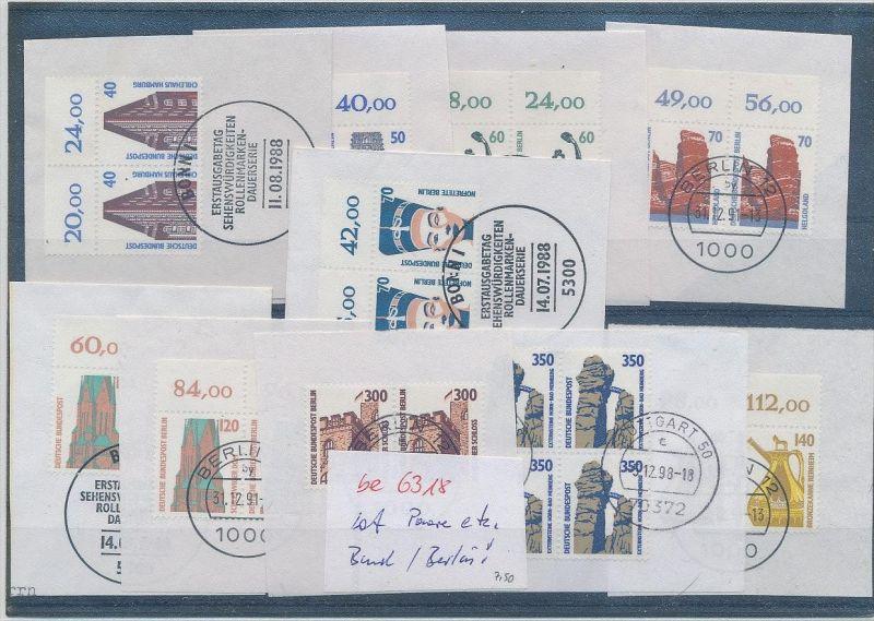 Lot -Paare Bund+Berlin   (be6318  ) siehe scan
