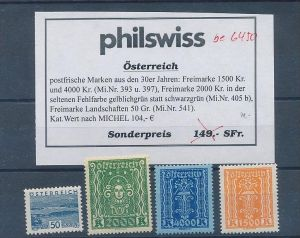Österreich-nettes Lot stark reduziert **   (be6450 ) siehe scan