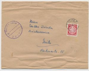 DDR  -Dienst  Post ... EF 11(ze401 ) siehe scan