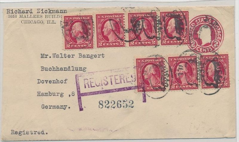 USA alter Beleg > D   ( be6522 ) siehe scan