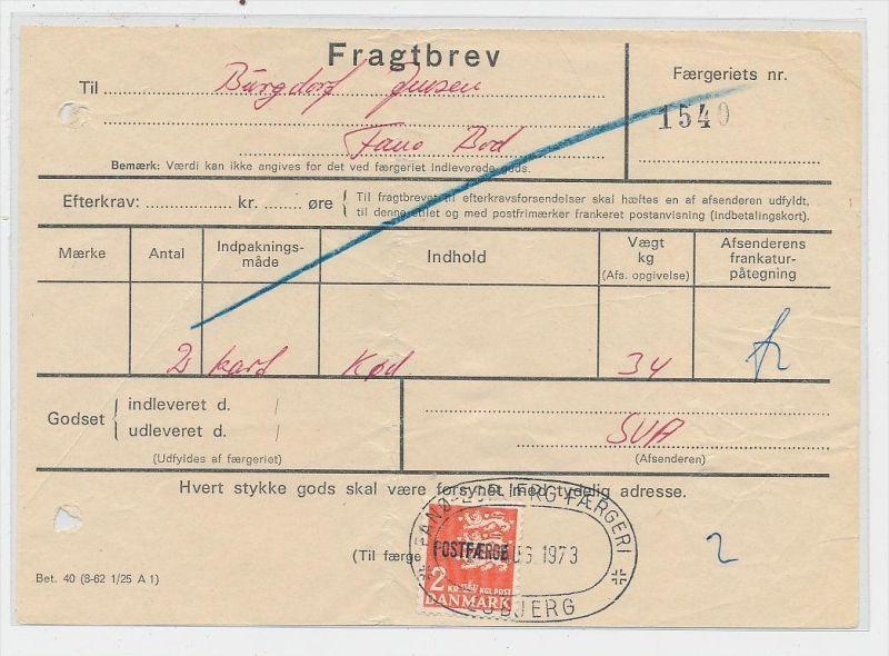 DK  -Beleg Postfähre...  ( ze824 ) siehe scan