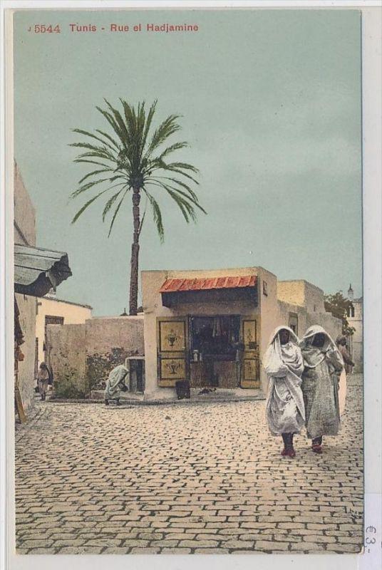 Algerien-alte Karte blanko ...  ( da5399  ) siehe scan