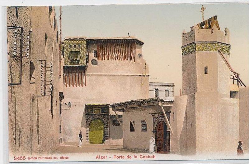 Algerien-alte Karte blanko ...  ( da5400  ) siehe scan