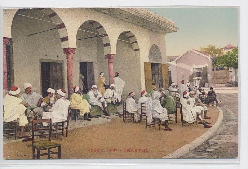 Algerien-alte Karte blanko ...  ( da5401  ) siehe scan