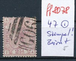 UK Nr.  47   o Stempel !   (ff8078 ) siehe scan