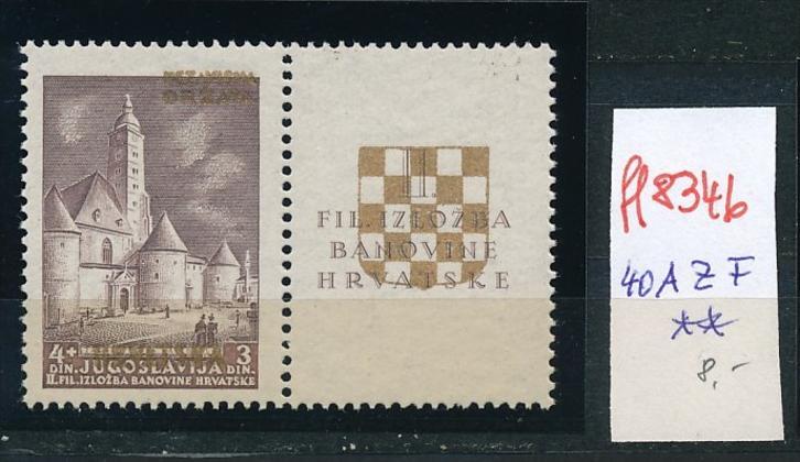 Kroatien-Nr. 40 A ZF  **  (ff8346 ) siehe scan