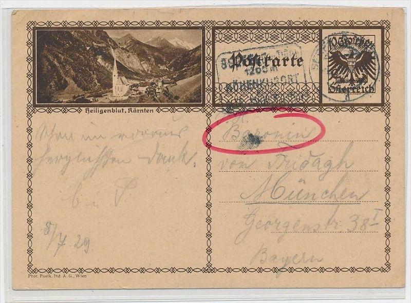 Österreich -alte Bild   Ganzsache    be6898 ) siehe scan  !