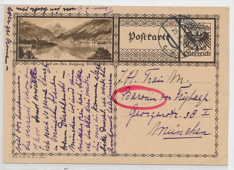 Österreich -alte Bild   Ganzsache    be6899 ) siehe scan  !