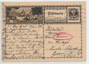 Österreich -alte Bild   Ganzsache    be6900 ) siehe scan  !