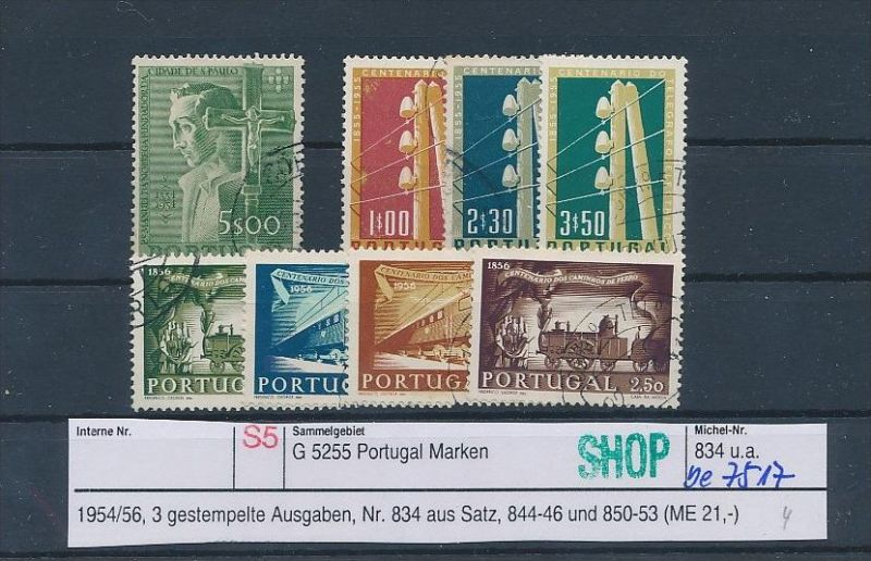 Portugal  Lot  o (be7517 ) siehe scan