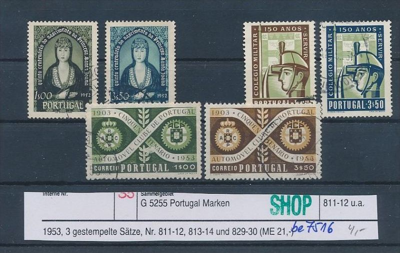 Portugal  Lot  o (be7516 ) siehe scan