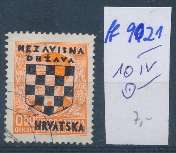 Kroatien  Nr. 10 IV  o  (ff9021 ) siehe scan