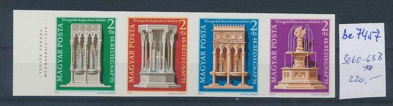 Ungarn Streifen  3060-63  B ** (be7457      ) siehe scan