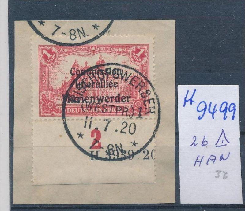 Marienwerder Nr. 26 HAN   o  ( ff9499 ) siehe scan  !