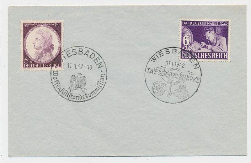 D.-Reich -Stempel Beleg  /811 FDC  ( be7500  ) siehe scan  !