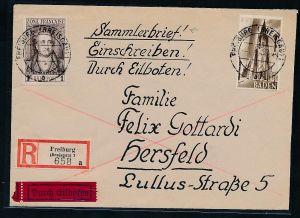 Baden  -Freiburg Sammler Beleg      (be8681   ) siehe scan
