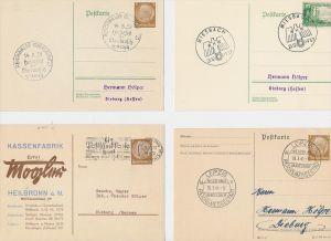 D.-Reich Stempel Lot - 8 Stück   ( be8026 ) siehe scan