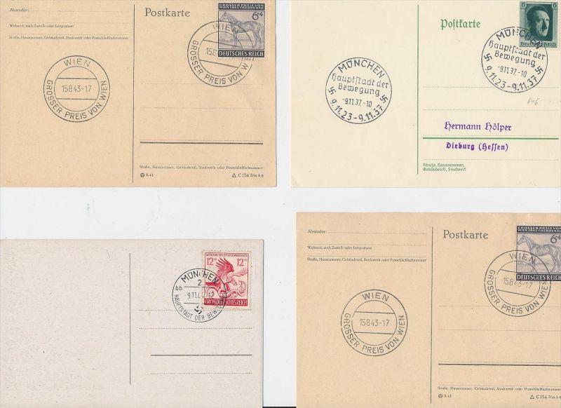 D.-Reich Stempel Lot - 8 Stück   ( be8013 ) siehe scan