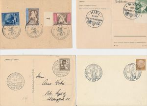 D.-Reich Stempel Lot - 8 Stück   ( be8018 ) siehe scan