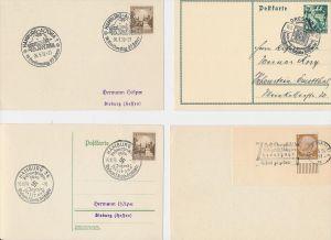 D.-Reich Stempel Lot - 8 Stück   ( be8035 ) siehe scan