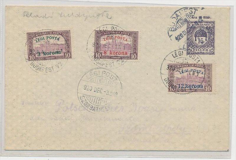 Ungarn alter Sammler Beleg  ( be9100 ) siehe scan