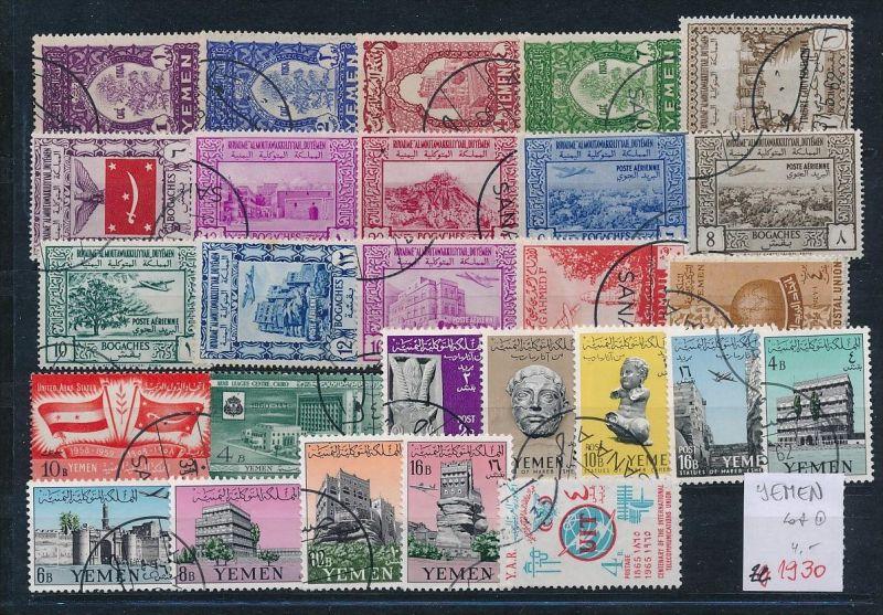 Jemen    o   - LOT     (ze1930  ) siehe scan....