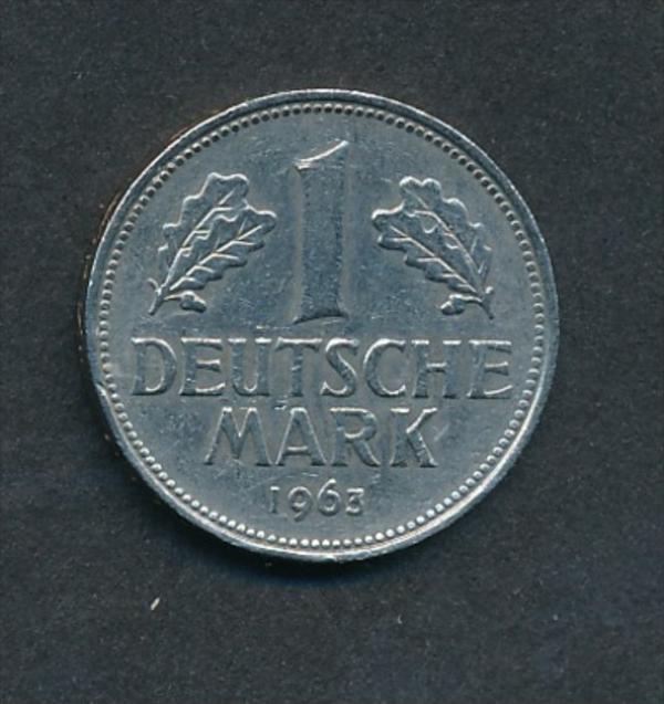 BRD-1,-D.-Mark 1963 J (x2008  )  siehe Bild