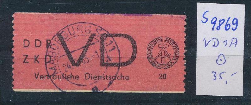 DDR ZKD   Nr VD 1 A     o  (s9869  )  siehe Bild