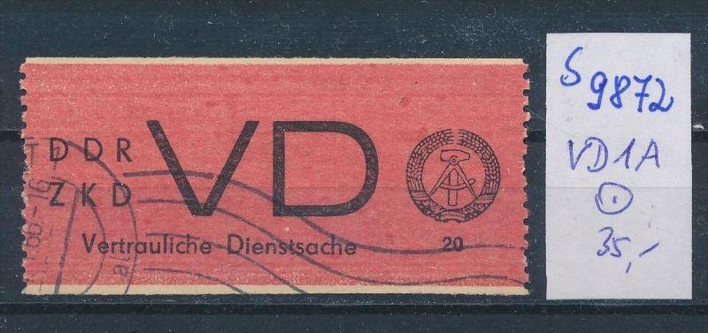 DDR ZKD   Nr VD 1 o    (s9872  )  siehe Bild