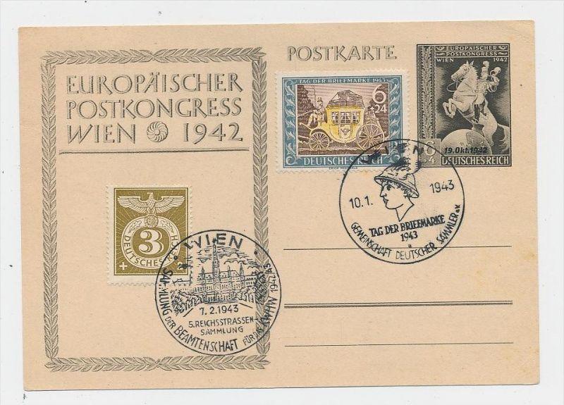 D.-Reich -Stempel Beleg  FDC ( g2625  ) siehe scan !