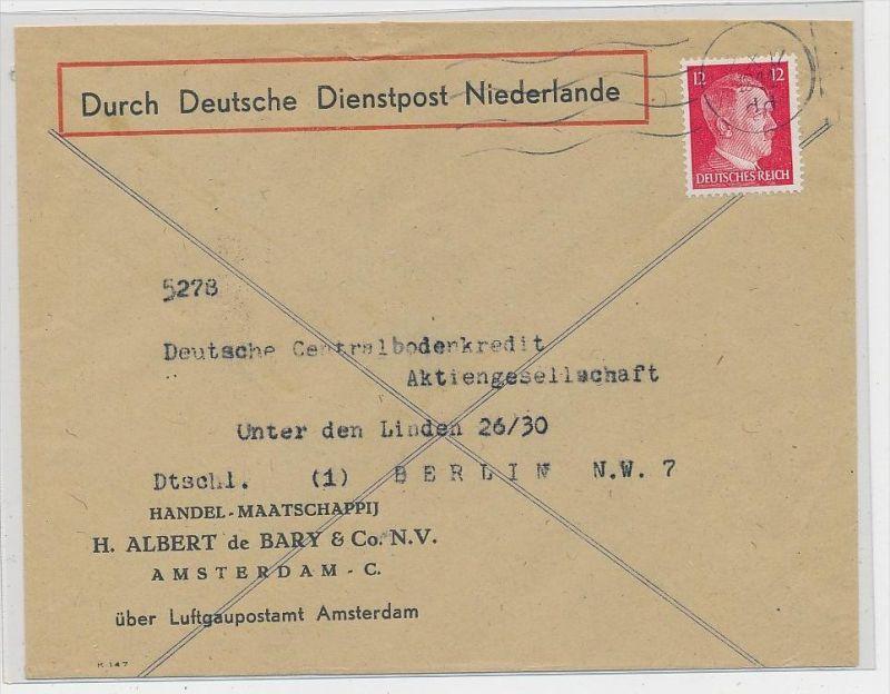 Deutsche Dienstpost Niederlande  ( ze2665 ) siehe Foto