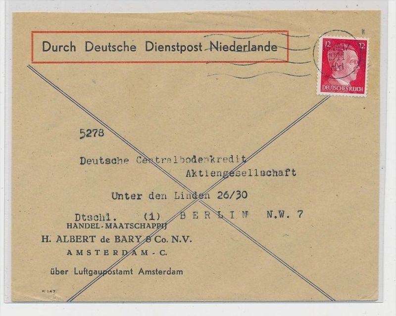 Deutsche Dienstpost Niederlande  ( ze2664 ) siehe Foto