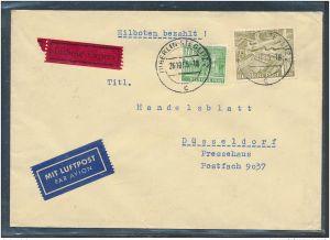 Berlin  seltener Luftpost Brief   MIF  57-Bedarf....   (bc9891 ) siehe scan