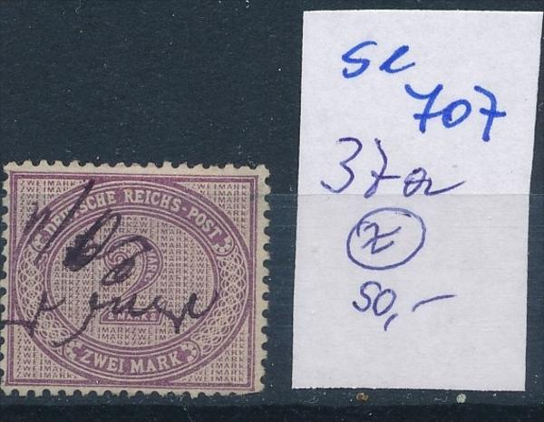 D.-Reich  Nr.  37 a     o    ( se 707   )  siehe scan