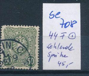D.-Reich  Nr.  44 PLF     o    ( se 708   )  siehe scan