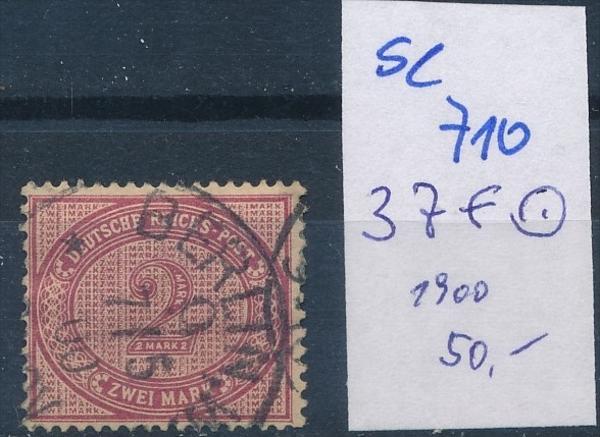 D.-Reich  Nr.  37 f       o    ( se 710   )  siehe scan