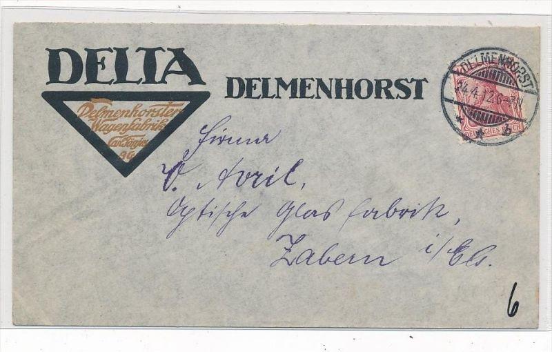 Delmenhorst  , alter  Stempel  Beleg     ( g5063    ) siehe Foto
