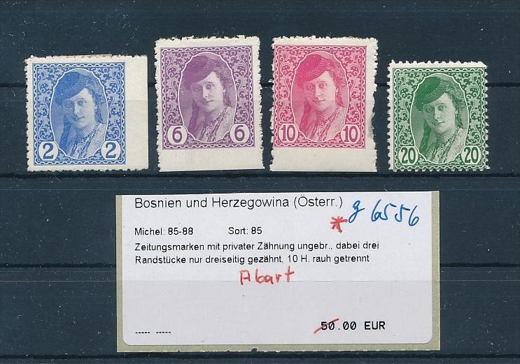 Bosnien+Herzogowiena  Lot  Marken mit Abart  *    (g6556 )  siehe Bild