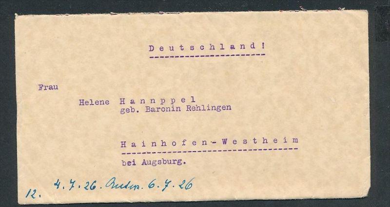 Ungarn Brief Nach Deutschland G7423 Siehe Bild Nr 424843661