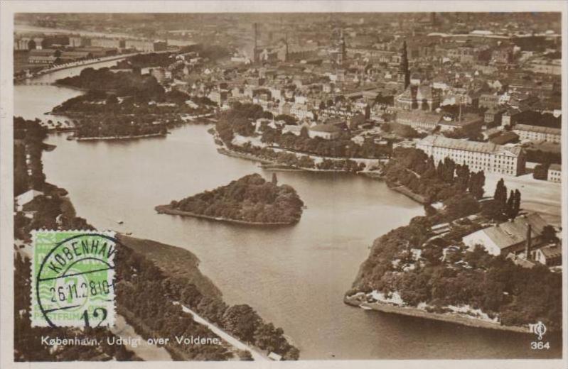 Dänemark  - alte Karte- Marke bildseitig     (k 2991  ) siehe Bild !
