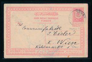 Türkei alte Ganzsache     (g7744  ) siehe Bild !
