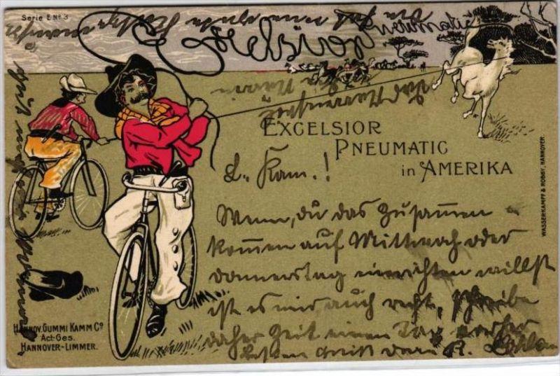 Werbung Pneumatic .. - nette alte Karte    (k3641)  siehe Bild
