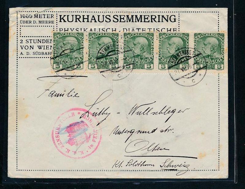 Österreich  -   Beleg  ( ze4571  ) siehe Bild !