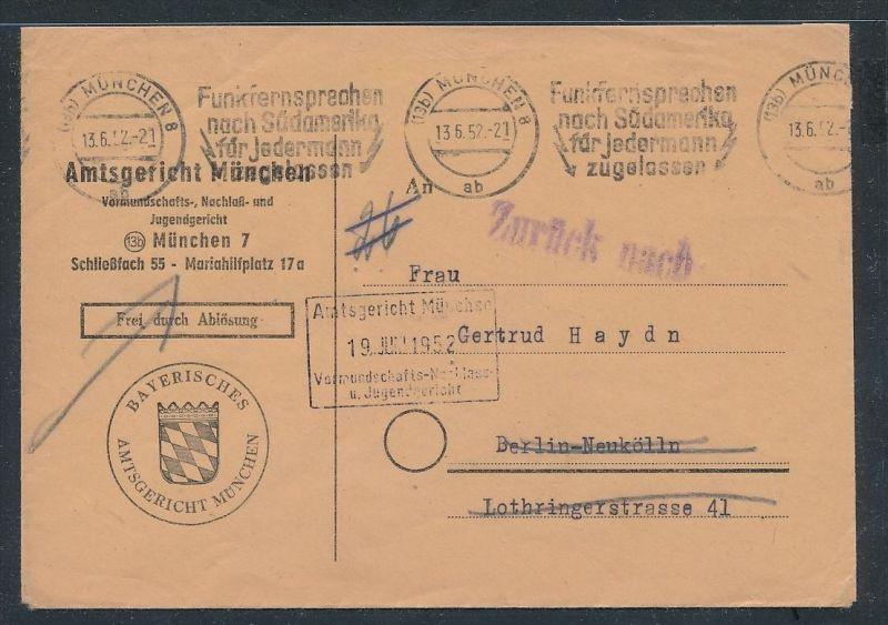 Bund Gerichts  -   Beleg  ( ze4530  ) siehe Bild !
