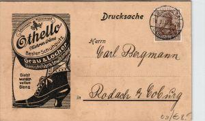 Werbung- Schuhcreme..nette alte Karte   (k4097  )  siehe Bild