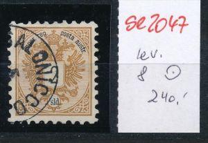 Österreich-Levante Nr . 8     ( se2047   ) siehe Bild  !